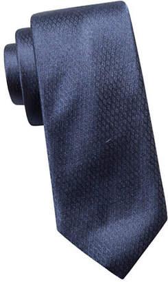 Vince Camuto Slim Silk Textured Tie
