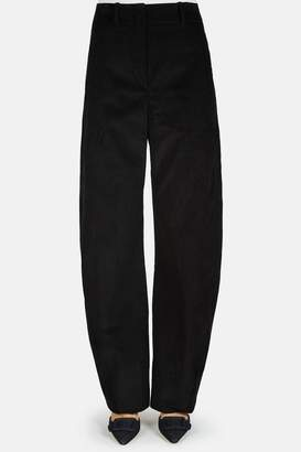 Lemaire Large Twisted Pants - Black