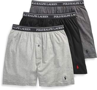 Ralph Lauren Wicking Knit Boxer 3-Pack