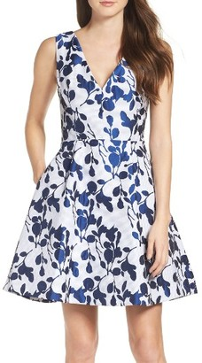 Women's Betsey Johnson Fit & Flare Dress $148 thestylecure.com