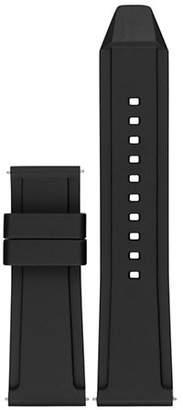 Michael Kors Grayson Black Silicone Watch Strap