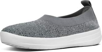 FitFlop Uberknit Crystal Ballet Flats