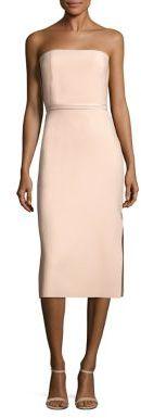 Elizabeth and James Sierra Strapless Dress $425 thestylecure.com