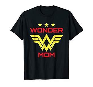Womens Wonder Mama Mother T Shirt Gift SuperHero Mom