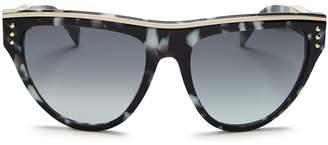 Moschino 002 Round Sunglasses, 56mm