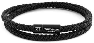 Tateossian Rubber Cable Bracelet