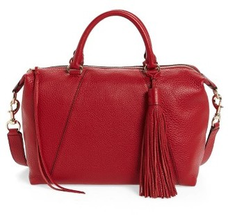 Rebecca Minkoff Isobel Leather Satchel - Red $345 thestylecure.com