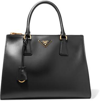 Prada - Galleria Soft Medium Leather Tote - Black $2,340 thestylecure.com