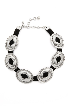 Vanessa Mooney Concho Choker Necklace $115 thestylecure.com