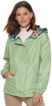 Details Women's Hooded Reversible Jacket