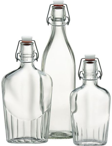 Crate & Barrel Sealed Flasks/Bottle