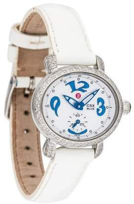 Michele CSX Blue Watch
