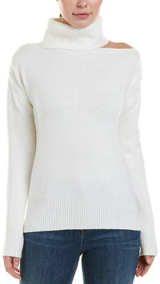 Central Park West Madison Marcus One-Shoulder Sweater