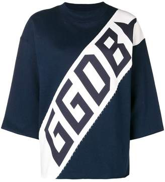 Golden Goose logo sweater
