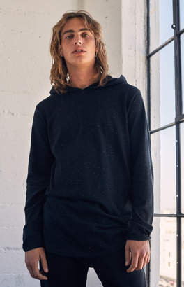 GUESS Pacsun Airen Nep Hooded Long Sleeve Scallop T-Shirt