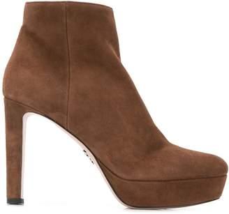 Prada heeled ankle boots