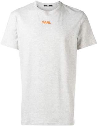 Karl Lagerfeld Paris neon logo T-shirt