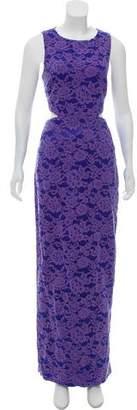 Nicole Miller Lace Evening Dress