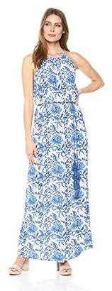 Karen Kane Women's Halter Maxi Dress