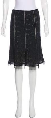Rebecca Taylor Knee-Length A-Line Skirt
