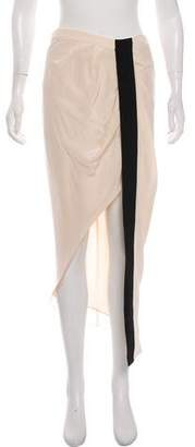 Haute Hippie Silk Midi Skirt w/ Tags