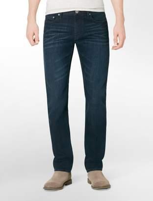 Calvin Klein slim leg osaka blue dark wash jeans