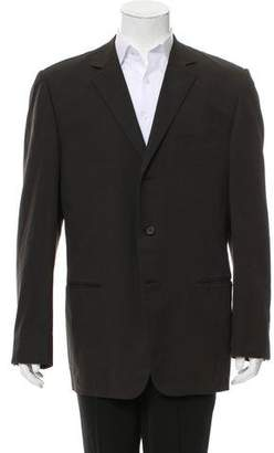 Gucci Notch-Lapel Three-Button Blazer