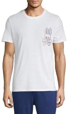 Psycho Bunny Crewneck Logo Tee