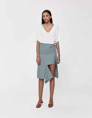 Low Classic Unbalance Suit Skirt