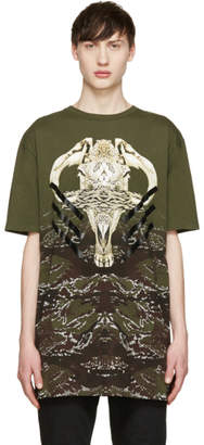 Marcelo Burlon County of Milan Green Vertientes T-Shirt