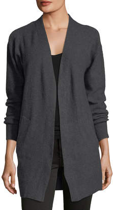 MICHAEL Michael Kors Open-Front Oversized Knit Cardigan