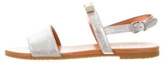 Marc by Marc Jacobs Metallic Logo Sandals w/ Tags