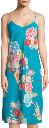 Natori Saipan Floral-Print Nightgown