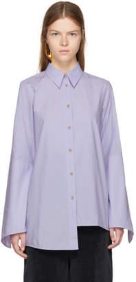 Acne Studios Purple Balzac Shirt