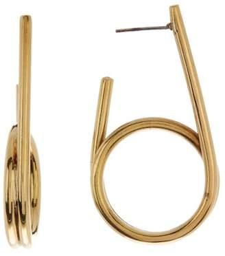 Soko Double Wrap 41mm Hoop Earrings