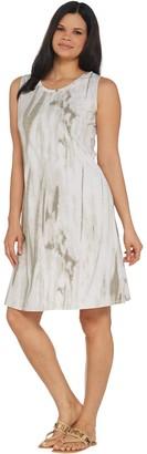 Belle By Kim Gravel Belle by Kim Gravel TripleLuxe Knit Watercolor Tank Dress