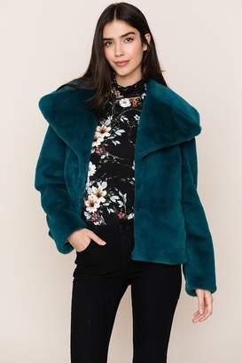 Yumi Kim Park City Faux Fur Jacket
