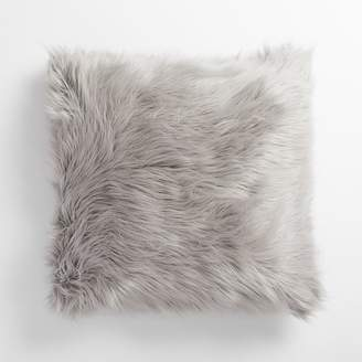 Pottery Barn Teen Furrific Euro Pillow Cover, 26&quotx26&quot, Himalayan Gray