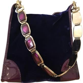Celine Velvet handbag