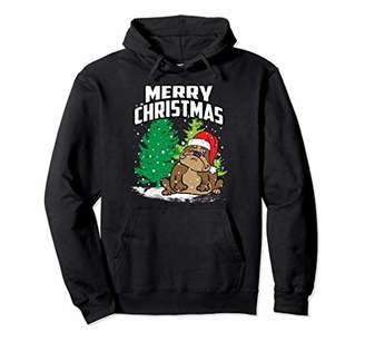 Bulldog Hoodie - Funny Christmas Sweater Gift Men Women