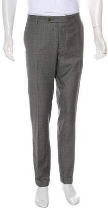 Brunello Cucinelli Structured Wool Pants