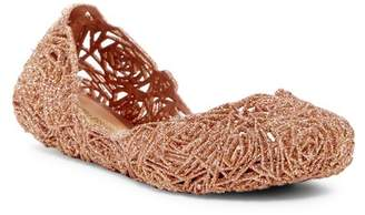 Melissa Campana Fitas II Caged Jelly Flat