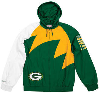 Mitchell & Ness Men Green Bay Packers Shark Tooth Jacket
