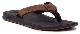 Reef Slammed Rover Lux Leather Flip Flop