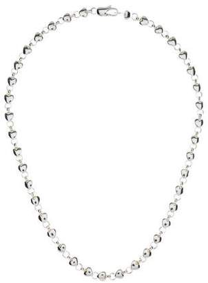 Tiffany & Co. Heart Link Chain Necklace