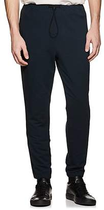 Theory MEN'S COTTON FRENCH TERRY JOGGER PANTS - NAVY SIZE XL