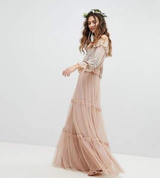 Maya Premium Tulle Layered Maxi Bridesmaid Skirt