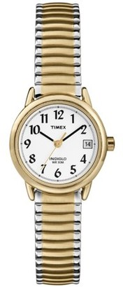 Timex Women's Easy Reader Two-Tone Expansion Band Watch