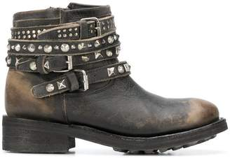Ash Tatum biker ankle boots