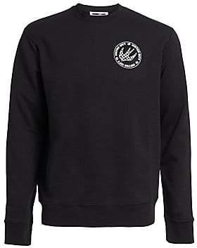 McQ Men's Clean Crew Emblem Sweater